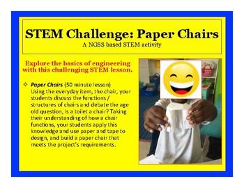 Amazing   COMPLETE   50 Minute Lesson   STEM Challenge: Paper Chairs