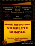 """""""MOCK INTERVIEW BUNDLE"""" - CAREER READINESS - STAGE #4 2nd Ed. """"Activity"""""""