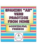 #COVID19WL Freebie Spanish Preterite Practice Mini-Bundle