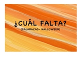 Which one is missing? Pumpkins-Halloween | ¿CUÁL FALTA? CA