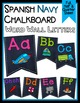 *CUSTOM* Mini Set - Navy &Chalkboard