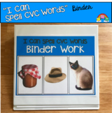 """""""CVC Words"""" Binder Activities (w/Real Photos)"""
