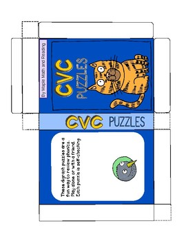 (CVVC and VVC) Long Vowels Puzzles