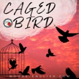 """""""Caged Bird"""" by Maya Angelou Poetry Pre-Reading, Questions, and Writing Prompt"""