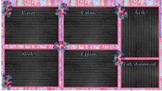 """Camino al Boardwalk"" Female Student Desktop Organizer"