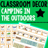 Classroom Themes Decor Bundles - Camping