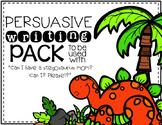 {Can I Have a Stegosaurus Mom} Book Companion-Persuasive Writing