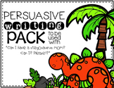 {Can I Have a Stegosaurus Mom} Book Companion-Persuasive Writing
