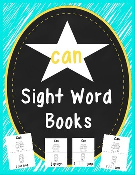 """""""Can"""" Sight Word Book"""