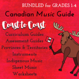 *Canadian* Music Coast to Coast Bundle Grades 1-4