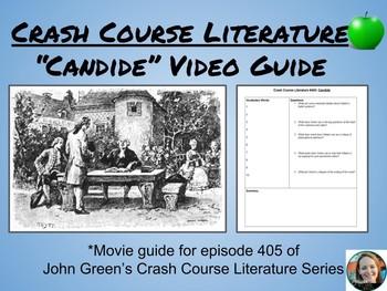 """Candide"" Crash Course Literature Video Guide (Episode 405)"