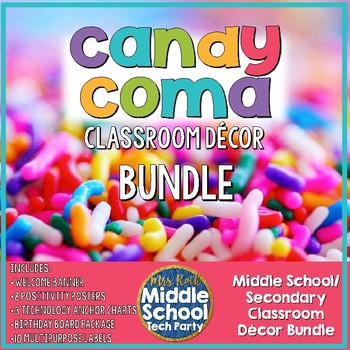 *Candy Coma* Décor BUNDLE!