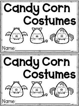 """Candy Corn Costumes"" (Halloween/October Emergent Reader Dollar Deal)"
