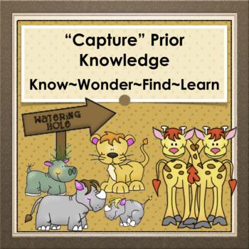 """""""Capturing"""" Prior Knowledge"""