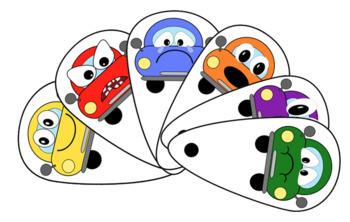 'Car' emotions pack