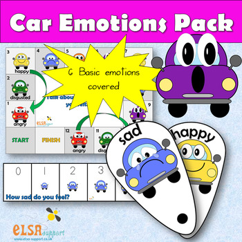 'Car' emotions pack