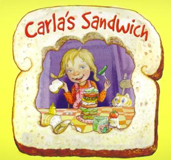 """Carla's Sandwich"" FIVE Writing Prompts"