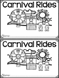 """""""Carnival Rides"""" A May/Spring Emergent Reader and Response Dollar Deal"""