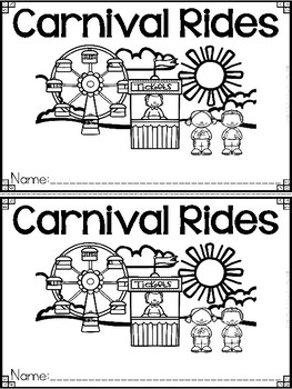 """Carnival Rides"" A May/Spring Emergent Reader and Response Dollar Deal"