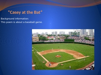 """Casey at the Bat"" PowerPoint Core Knowledge"