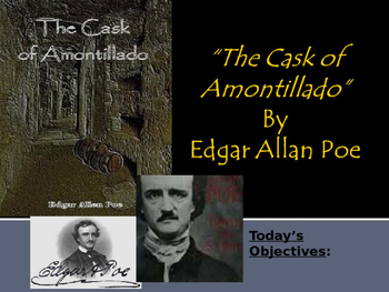"""Cask of Amontillado"" By Edgar Allan Poe"