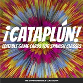 ¡Cataplún! game for Spanish classes - Editable game card template