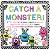 """Catch a Monster - A """"Go Fish""""-style game for attributes or reinforcement"""