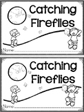 """Catching Fireflies"" A June/Summer Emergent Reader and Response Dollar Deal"