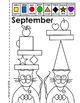 """""""Cats in Hats"""" A SHAPE + COLOR Calendar Book"""