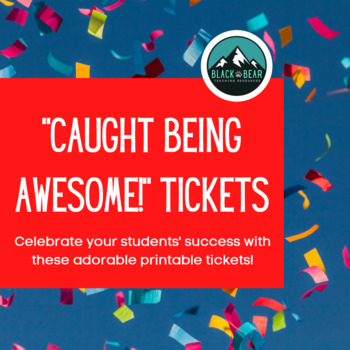 """""""Caught Being Awesome"""" Tickets"""