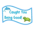 """Caught You Being Good"" jar label"