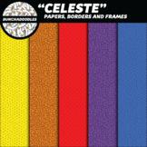 """Celeste"" Creator Kit - Digital Papers, Frames, and Letters!"
