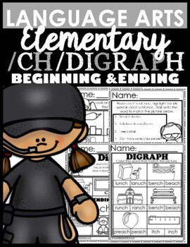 /Ch/ Digraphs (Word Work)