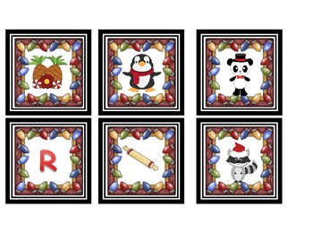 ~ ChRiStMaS ~ Initial Sound Sort