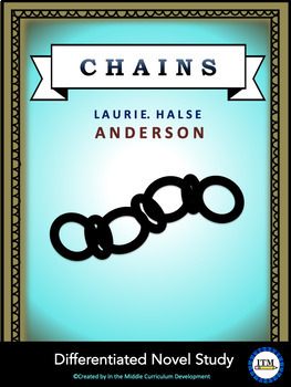 """Chains"" Differentiated Novel Study"
