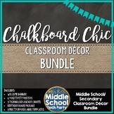 *Chalkboard Chic* Décor BUNDLE!
