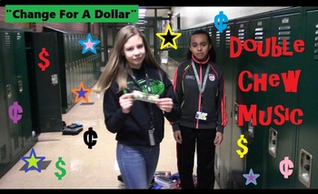 """""""Change For A Dollar"""" educational song about counting money"""