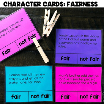"""Character Cards: Fairness"" Center"