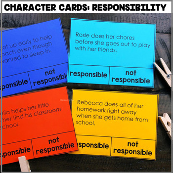 """""""Character Cards: Responsibility"""" Center"""