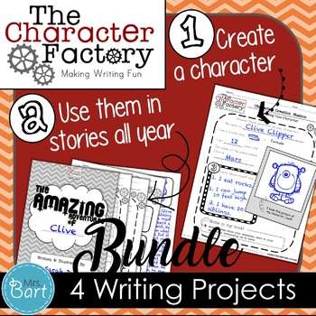 {Character Factory} Writing Bundle