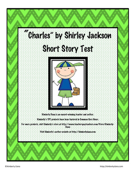 """""""Charles"""" by Shirley Jackson Test"""