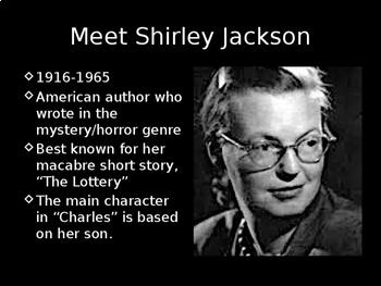 """Charles"" by Shirley Jackson Unit Bundle"