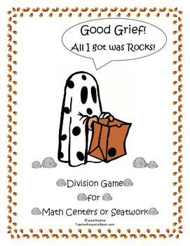 """Charlie Brown"" Themed Division Game"