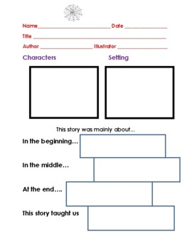 """Charlotte's Web"" Comprehension Activity Packet"