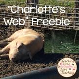 """Charlotte's Web"" Freebie"