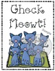 """Check Meowt!"" Writing Prompt Craftivity"
