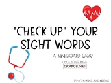 """""""Check up"""" Sight Word Board Game"""