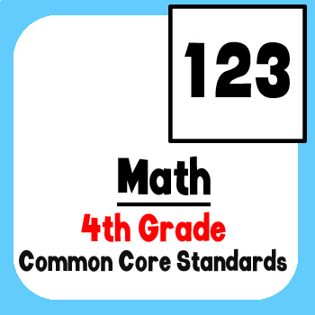 *Checklist* 4th Grade Math - Common Core State Standards CCSS
