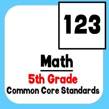 *Checklist* 5th Grade Math - Common Core State Standards CCSS