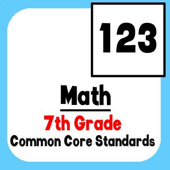 *Checklist* 7th Grade Math - Common Core State Standards CCSS